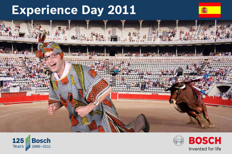 Bluebox Fotoaktion | BOSCH | Experience Day | Sofort Foto aktionspotenzial