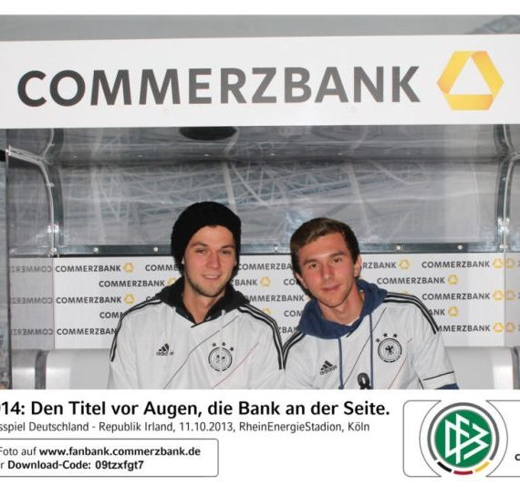 Commerzbank crossmediale Fotoaktion