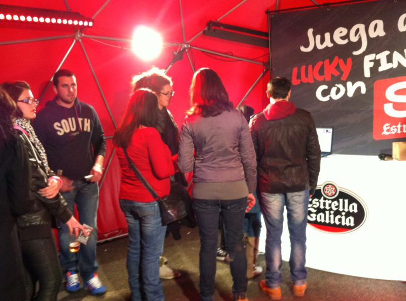 Lucky Finger® | POS Marketing | Estrella Galicia