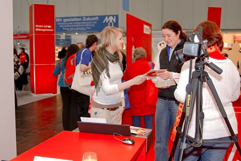 persönliches Give-away Messe