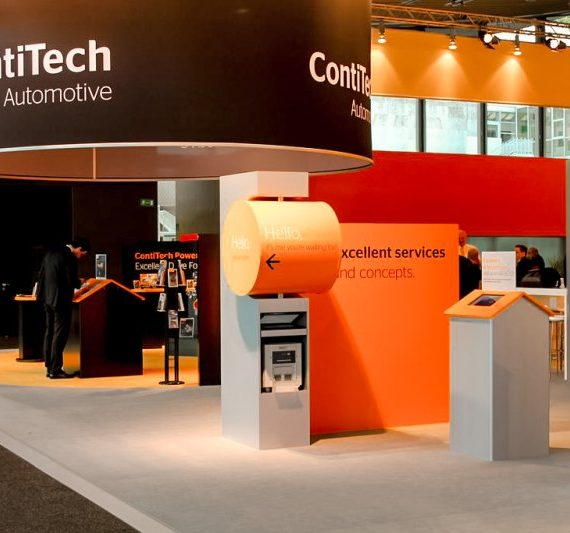 Fotoaktion als Messestand Idee für Continental