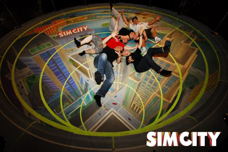 Sim City | electronic arts | 3D Fotoaktion | gamescom