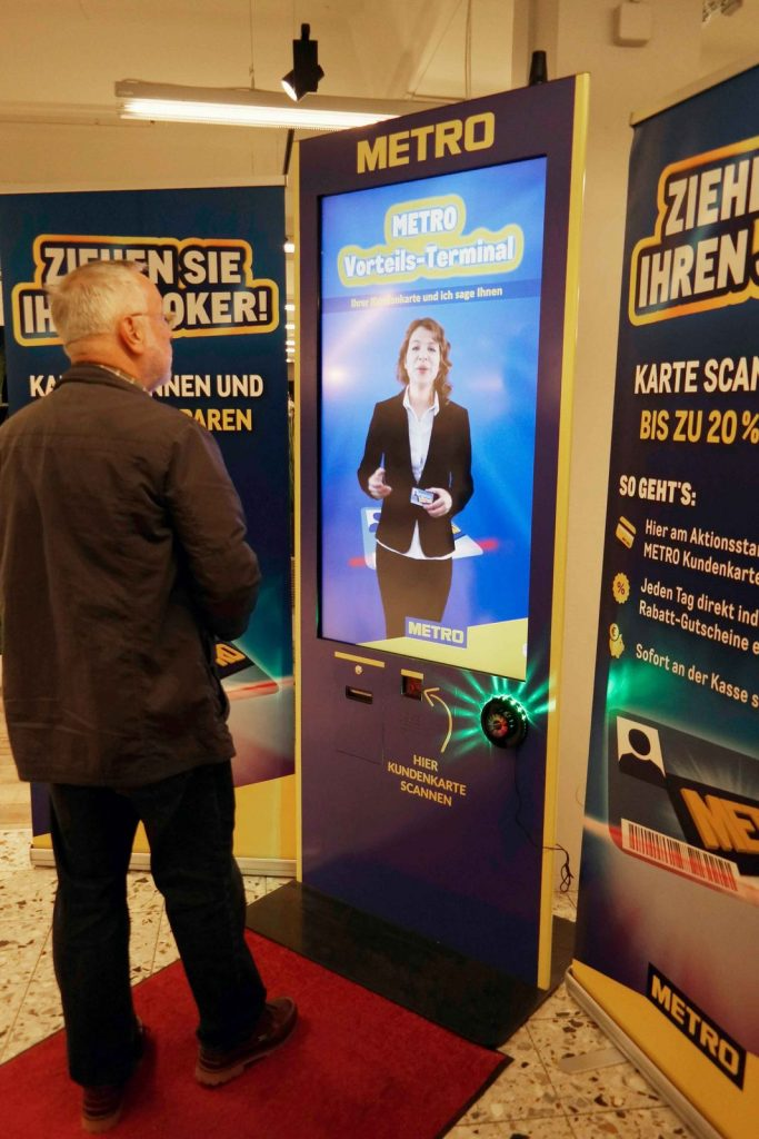 virtual promoter bei metro aktion