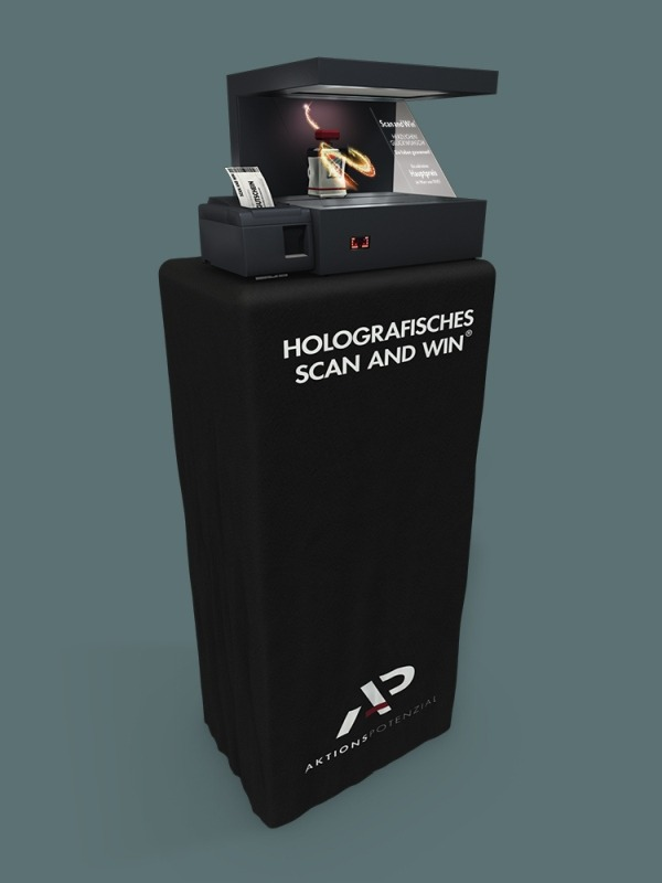Aktionspotenzial Holografisches Scan And Win Modulvorstellung 10
